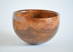 Calabash bowl bowl turned by Dennis Curtis.